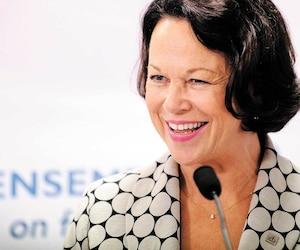 Candidate défaite dans Jean-Lesage aux dernières élections, la gestionnaire Gertrude Bourdon pourrait porter les couleurs du PLQ dans la partielle de Jean-Talon.