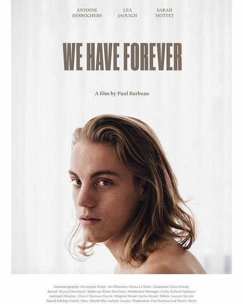 Antoine Desrochers est en plein cœur d'un triangle amoureux dans le film «À nous l'éternité»