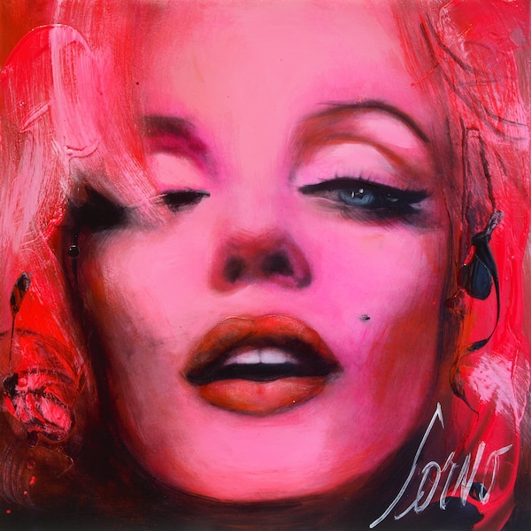 <i>Inspiration Marilyn Monroe</i></br> Corno 2012</br> 24' x 24'