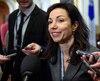La candidate à la direction du Parti québécois, Martine Ouellet
