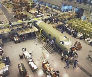 IntÈrieur usine Bombardier