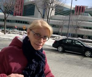 La gardienne de 69 ans Nicole d'Anjou-Delage est accusée de voies de fait graves sur un bébé de huit mois.