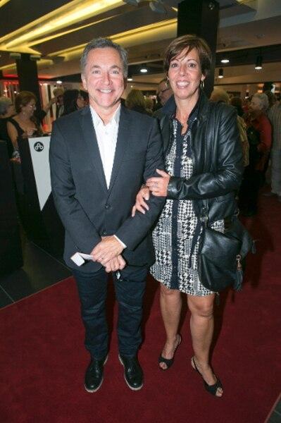 Georges Pothier et sa conjointe Lucie Cousineau.