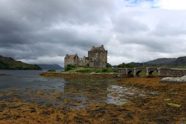 Le château Eilean Donan.