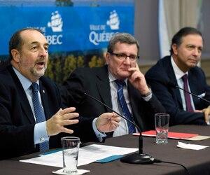 Le ministre fédéral Denis Lebel a dit que la portion d'Ottawa (32,5 millions) demeurera disponible.