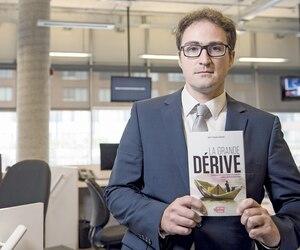 Le journaliste d'enquête Jean-François Cloutier révèle les dessous des paradis fiscaux dans son nouveau livre intitulé La grande dérive.