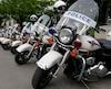 Malgré des mesures de sécurité assouplies, la police a veillé scrupuleusement au respect de la réglementation.