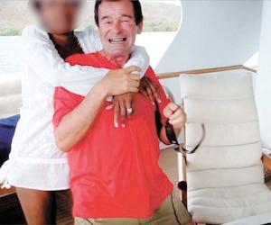 L'ex-maire de Terrebonne, Jean-Marc Robitaille, à bord du Touch en 2008.
