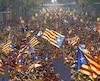 Les Catalans pourraient avoir à se prononcer sur l'indépendance en septembre.