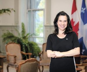 Rencontrée cette semaine dans son bureau à l'hôtel de ville, Valérie Plante s'est dite satisfaite de ses deux premières années comme mairesse de Montréal.