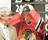 Le repêchage de 2006 a changé le visage des Blackhawks de Chicago. Avec la troisième sélection au total, les Hawks avaient jeté leur dévolu sur leur actuel capitaine, Jonathan Toews.