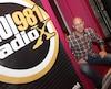 Le directeur général de CHOI Radio X, Philippe Lefebvre