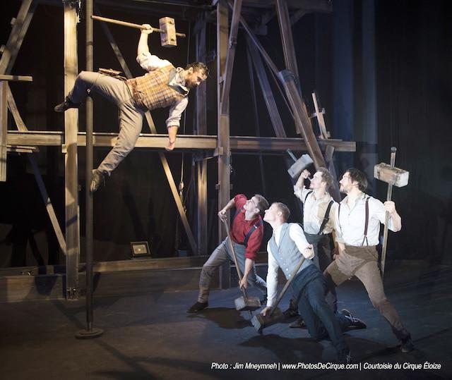 Le cirque Éloize à la Salle Rolland-Brunelle