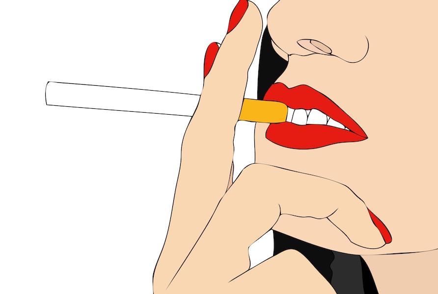 Je ne peux pas cesser de fumer sur le délai précoce la grossesse