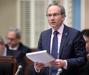 <b>Martin Coiteux</b><br /> Ministre