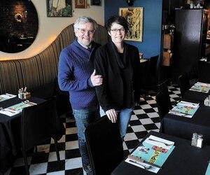Même si elle n'a pas été facile à prendre, Maurice Simard et Caroline Jean, propriétaires dubistro Le Brigantin dans le quartier du Vieux-Port,sont sereins avec leur décision de fermer le restaurant qu'ils ont fondé il y a vingt ans.