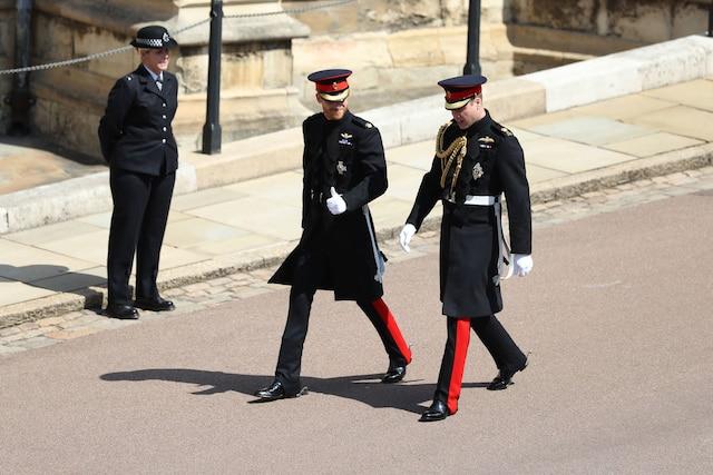 Le prince Harry et le prince William.