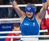 Ariane Fortin est l'une des athlètes ayant vu son parcours se terminer à la suite d'une décision douteuse des juges.