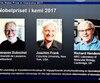 Les trois lauréats du prix Nobel de chimie 2017
