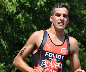 Le triathlonien Xavier Grenier-Talavéra figure parmi les espoirs olympiques canadiens pour les Jeux olympiques de Rio.