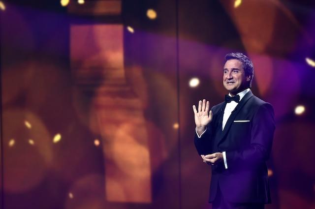 René Simard lors des 29es prix Gémeaux le dimanche 14 septembre 2014 au Théâtre Maisonneuve de la Place des Arts à Montréal.JOEL LEMAY/AGENCE QMI