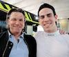 Zachary Claman De Melo peut compter sur l'expertise de son agent, l'ancien pilote de F1Stefan Johansson.