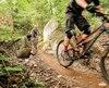 Les sentiers destinés aux cyclistes débutants offrent parfois différents niveaux de difficulté pour progresser.