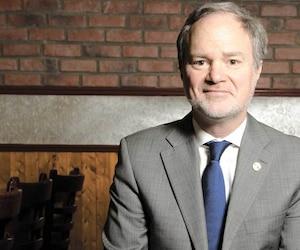 André Pratte, ancien journaliste de La Presse aujourd'hui sénateur, a rencontré 13 fois des citoyens dans les bureaux de Power Corporation entre 2016 et 2018.