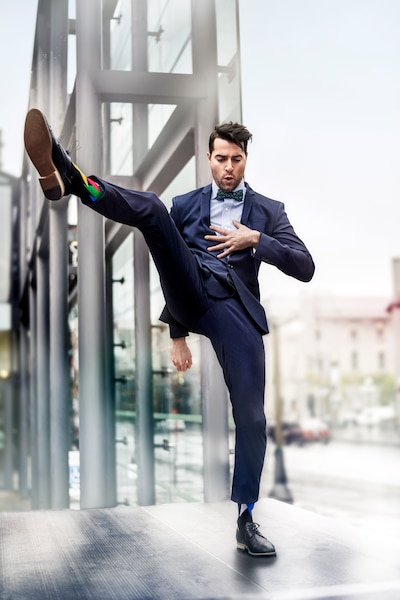 Socks by William, nouvelle compagnie québécoise spécialisée dans les bas de fantaisie.