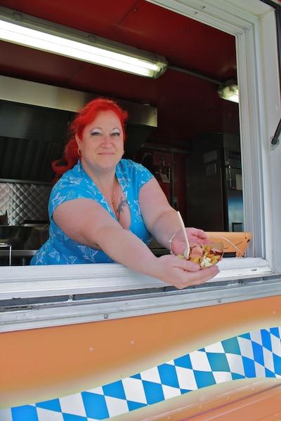 Annie Clavette, co-propriétaire du camion DAS Truck