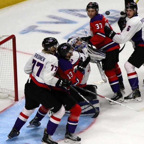 Match annuel des meilleurs espoirs le festival offensif - Ligue nationale de hockey ...
