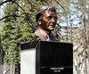 La statue de Camille Laurin à Québec.