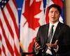 Justin Trudeau a dressé un bilan de ses six premiers mois de pouvoir, aujourd'hui.