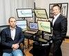 Paul-Henri Erhard et Jordan Arshinoff-Foss de Xpedigo, dans leurs bureaux à Boucherville.