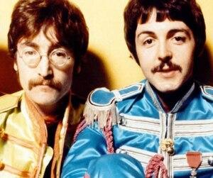 John Lennon et Paul McCartney à l'époque des Beatles