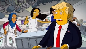 The Simpsons ramasse Donald Trump