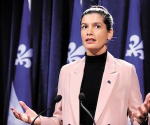 La ministre de la Sécurité publique Geneviève Guilbault