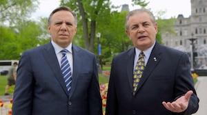 La CAQ, son chef François Legault et son ex-député Jacques Duchesneau sont poursuivis pour 200 000 $ par André Boisclair.