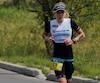 Magali Tisseyre a terminé au cinquième rang de l'Ironman de Mont-Tremblant, le dimanche 20 août 2017.