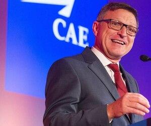 Pour le PDG de CAE, Marc Parent, «une part de nos perspectives annuelles de croissance sera générée par des livraisons records de simulateurs de vols».