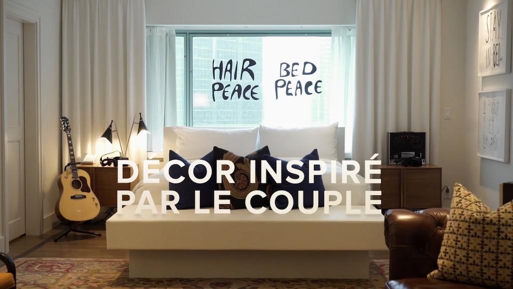 [VIDÉO] 50 ans plus tard: 2999$ par nuit pour dormir dans la légendaire suite du couple John Lennon et Yoko Ono