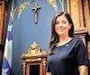 La députée indépendante de Marie-Victorin Catherine Fournier souhaite plus de transparence dans les dépenses des élus.