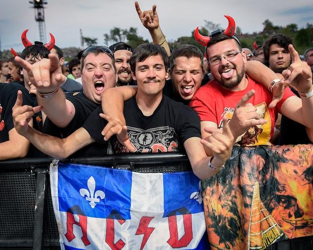 Après 15 ans d'absence dans la capitale, inutile de dire que la formation australienne était fort attendue: les fans sont venus de partout au Québec.