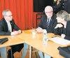 Martin Coiteux est venu recueillir les priorités des élus de la région.