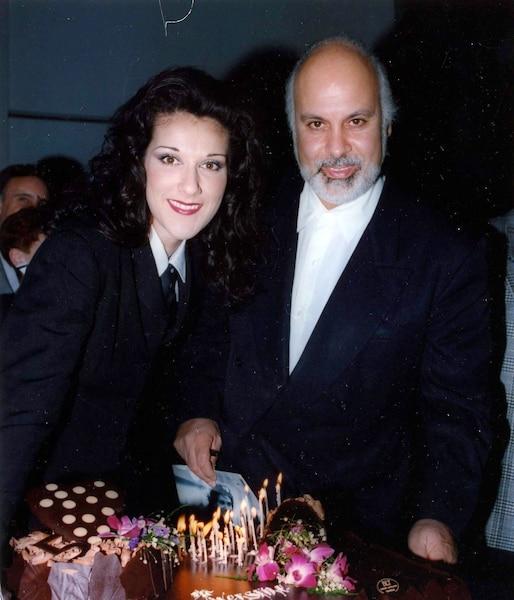 Céline Dion et René Angelil. pour les 25ans de Céline à la rotonde du Musée d'art contemporain. Mars 1993. photo Pierre-Yvon Pelletier / Le Journal de Montréal.