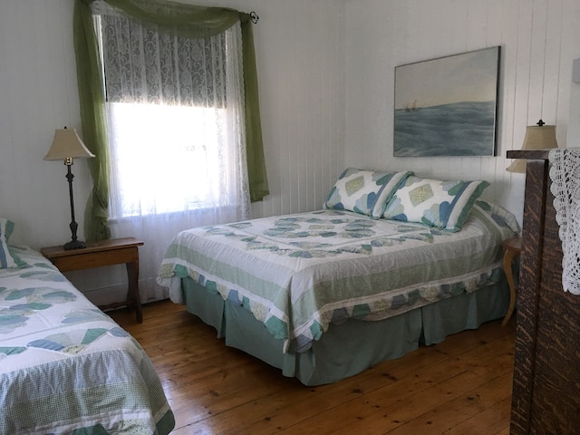 La chambre verte est  l'une des deux chambres  qui disposent d'un lit  supplémentaire.