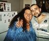 Carole Hémond, en compagnie de son fils de 24 ans Dany Ouellette, qui a été tué à sa sortie d'un bar de Saint-Henri en 2010.