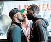 Il y a longtemps que Custio Clayton (à gauche) voulait affronter un boxeur du top 10 mondial et son souhait se réalisera samedi, à Québec, face à Stephen Danyo.