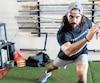 Mathieu Perreault a passé une partie de son été à s'entraîner à l'Institut du guerrier de Drummondville.