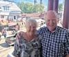 Aase et Terje Hermansen, de la Norvège, sont de retour à Saint-Tite après y avoir assisté il y a 31 ans.